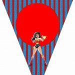Wonder Woman: Free Party Printables. | Parties! In 2019 | Superhero   Free Wonder Woman Printables