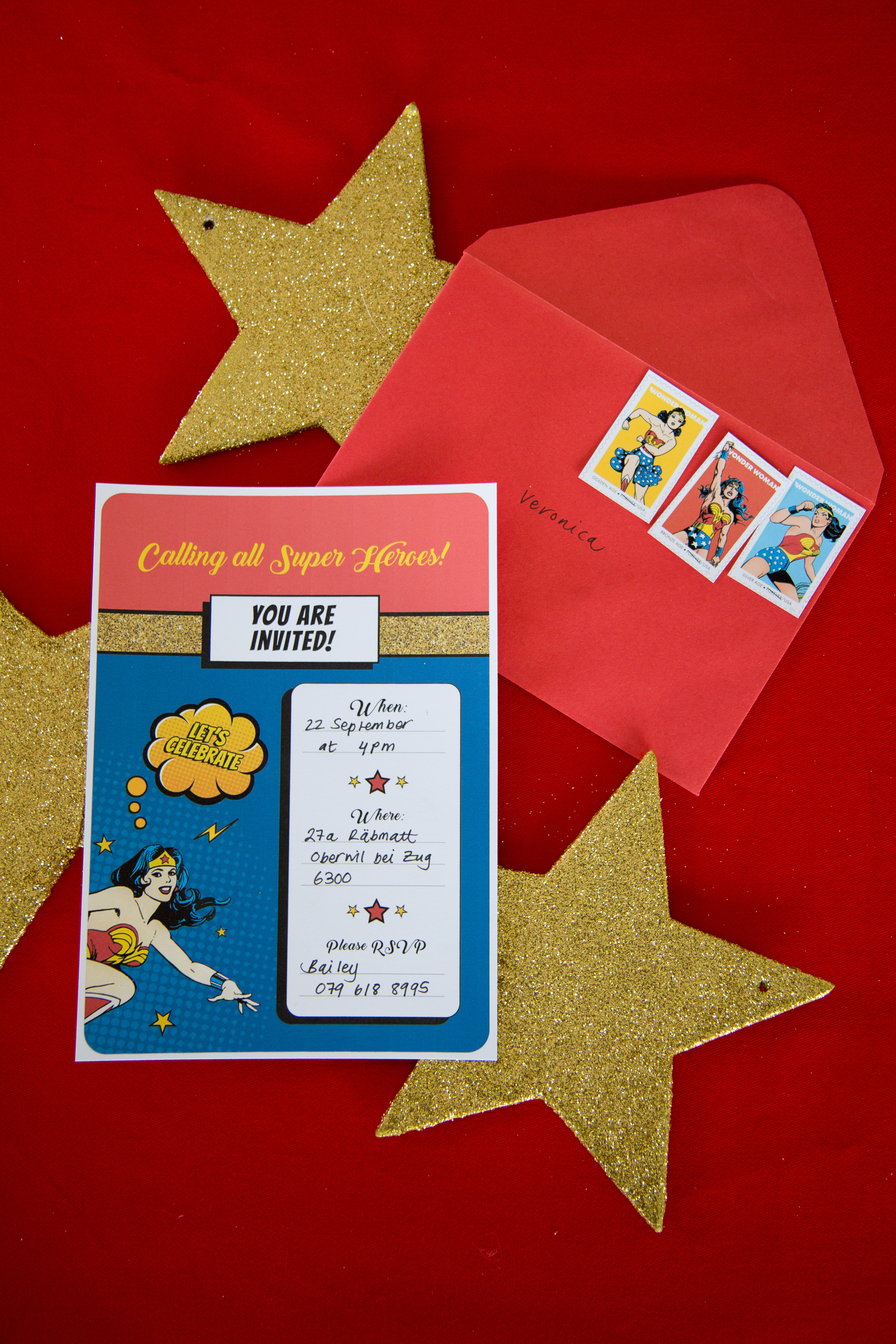 Wonder Woman Party: Free Printables - Party Pieces Blog & Inspiration - Free Wonder Woman Printables