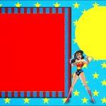 Wonder Woman:free Printable Invitations.   Oh My Fiesta! For Geeks   Free Wonder Woman Printables