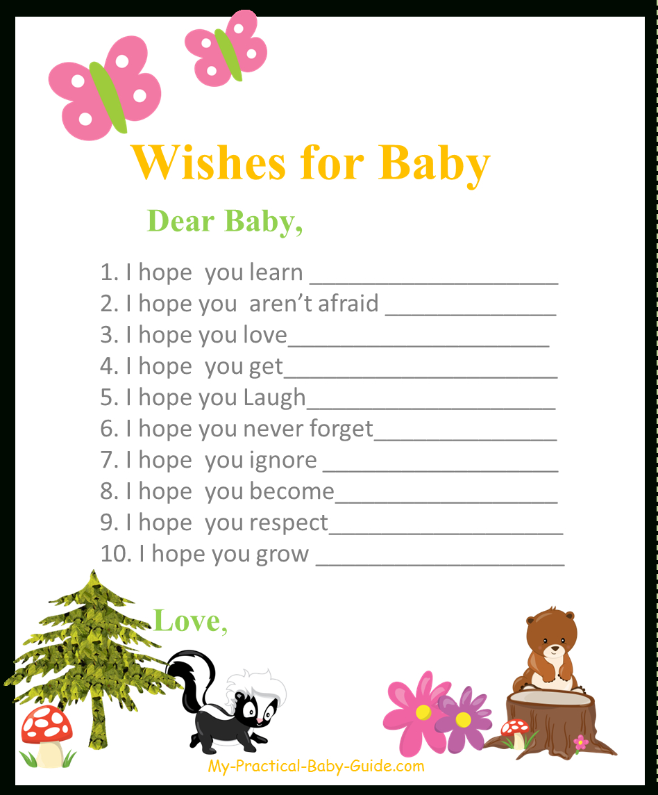 Woodland Baby Shower Theme Ideas - My Practical Baby Shower Guide - Free Woodland Baby Shower Printables