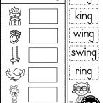 Word Family Ing Phonics Practice Printables | Kindergarten Tales   Free Printable Word Family Worksheets For Kindergarten
