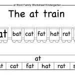 Word Family Worksheets Kindergarten | Briefencounters   Free Printable Word Family Worksheets For Kindergarten