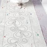 Xanadu Tear Away Pantograph |Finishing |Nancy's Notions   Free Printable Pantograph Quilting Patterns